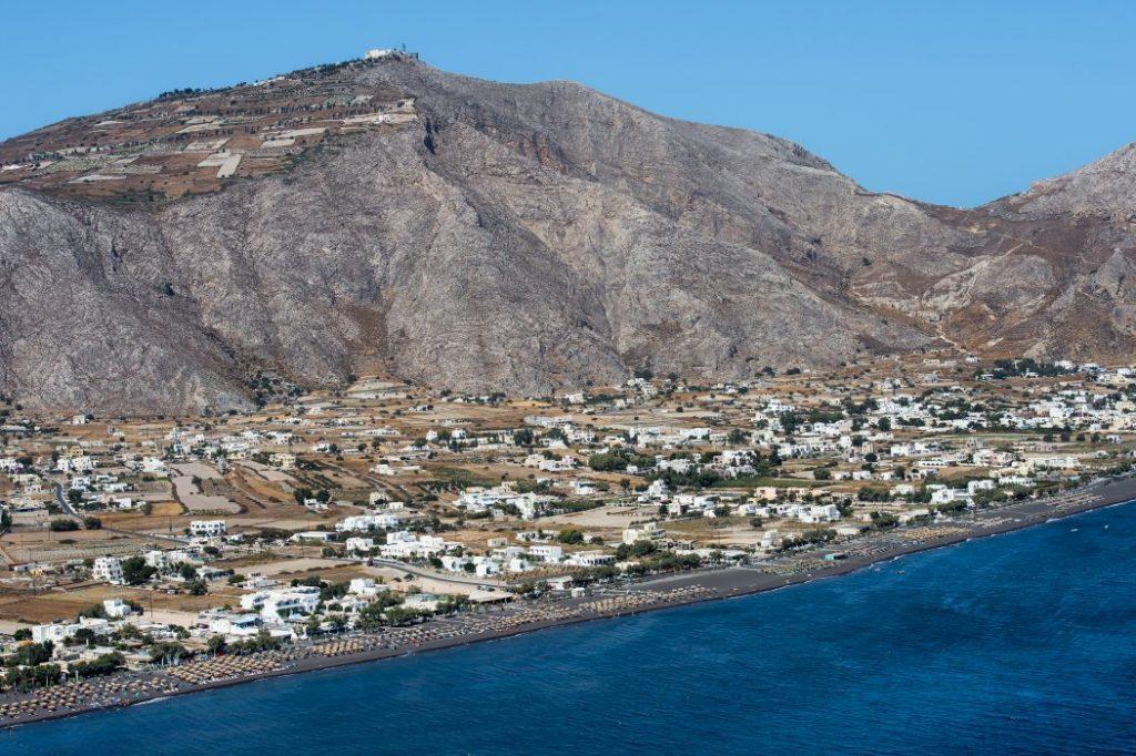 Perissa, Santorini – Aerial